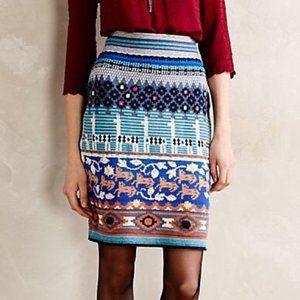 HWR Monogram Llama Skirt